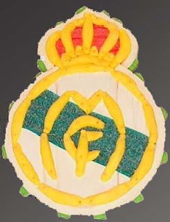 Escudo Merengue de chuches  Pastel Esdiver Ilusiones a domicilio