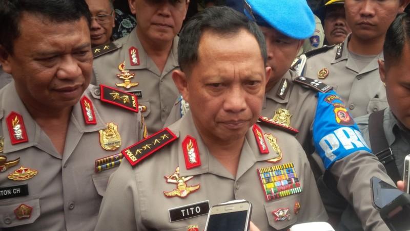 Kapolri saat berada di ITB Bandung