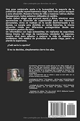 ContraPortada Cegados segunda Edición