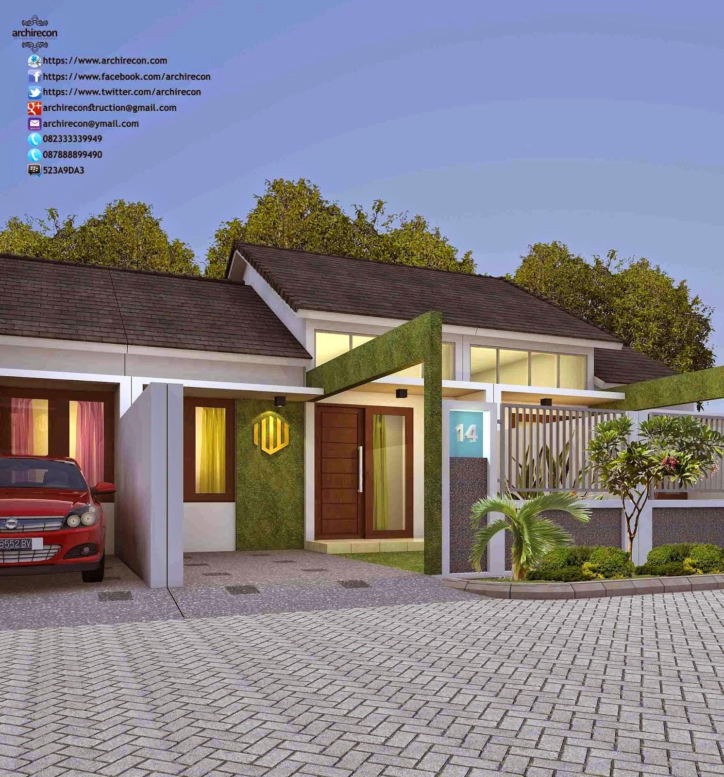 disain rumah minimalis