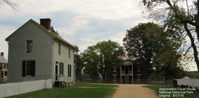 View Of Courthouse With General Store On The Left