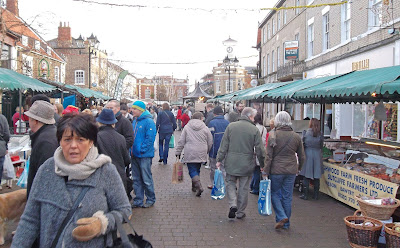 Picture two: Christmas Farmers' Market in Brigg DN20 8E - see Nigel Fisher''s Brigg Blog