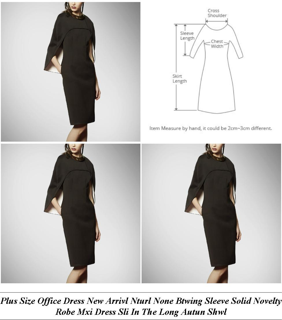 Cocktail Dress For Js Prom - In Store Clothing Sales - Shirt Dress Uk Midi