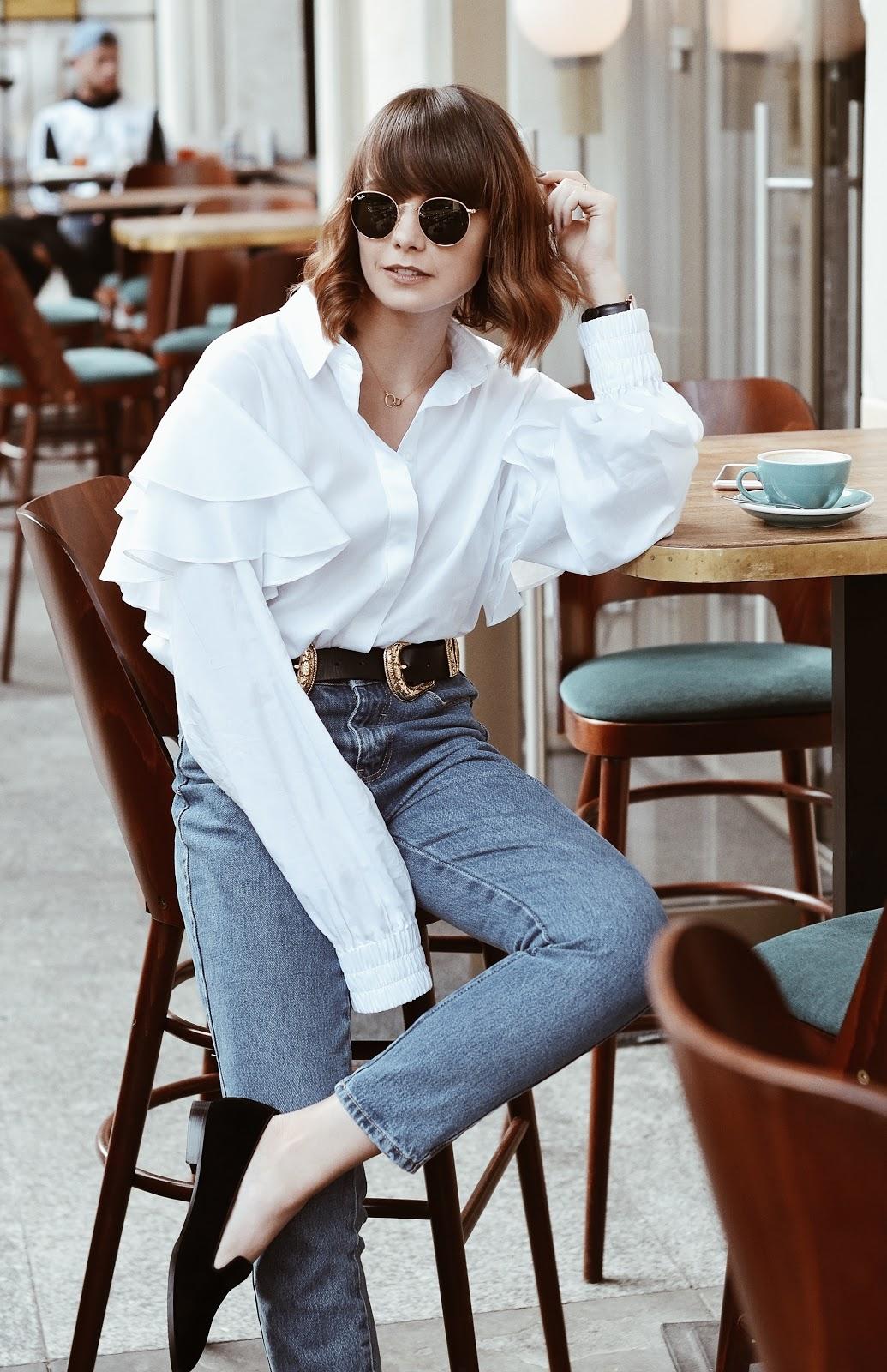mom jeans | blog o modzie | streetstyle