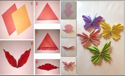 11 Tutorial Membuat Hiasan Dinding Dari Kertas Mudah Sederhana Dan Tidak Menguras Kantong 4