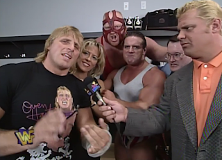 WWF / WWE - IN YOUR HOUSE 9: International Incident - Camp Cornette promised victory against HBK, Ahmed Johnson, and Sid