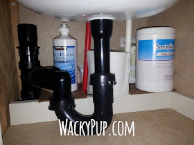 installing a second faucet in a camper / rv - easy thermostatic faucet installation step-by-step - GENIUS!