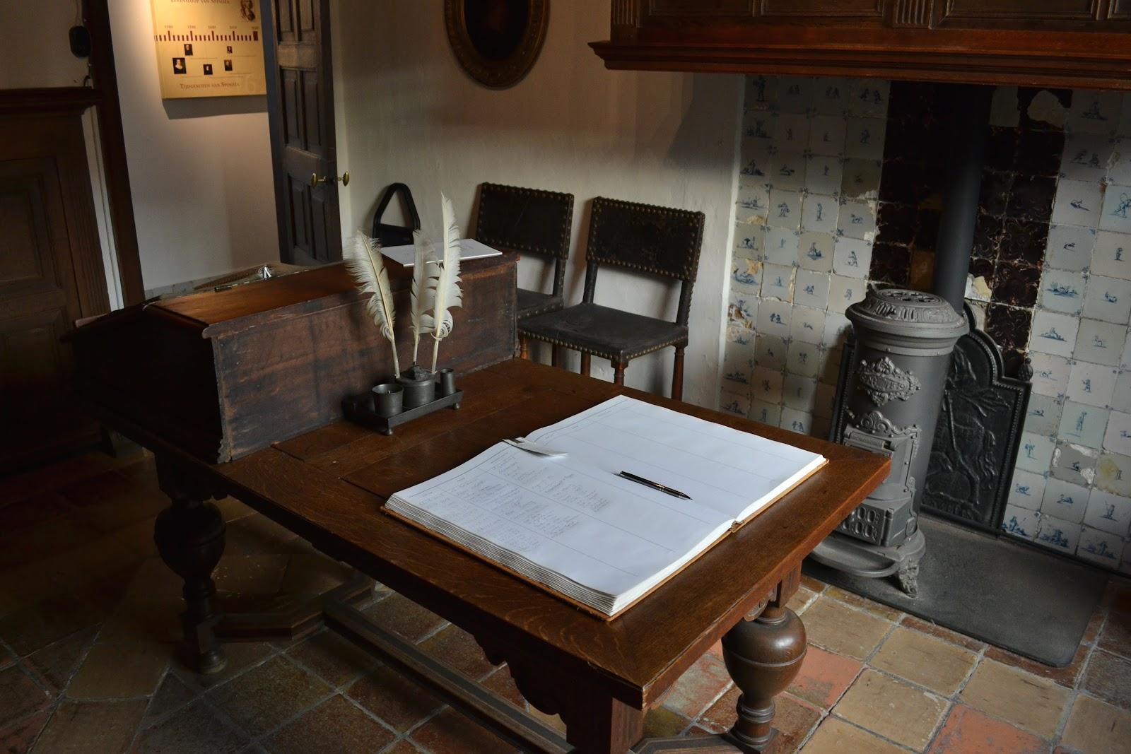 レインスブルクのスピノザの書斎