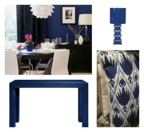 Here S How This Royal Color Translates Into Interiors Furniture And Home Decor Accessories