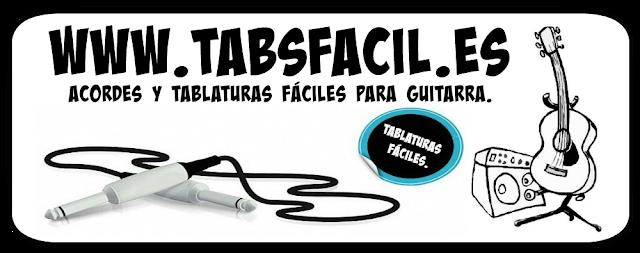 TODOS LOS ACORDES Y TABLATURAS FÁCILES PARA GUITARRA.