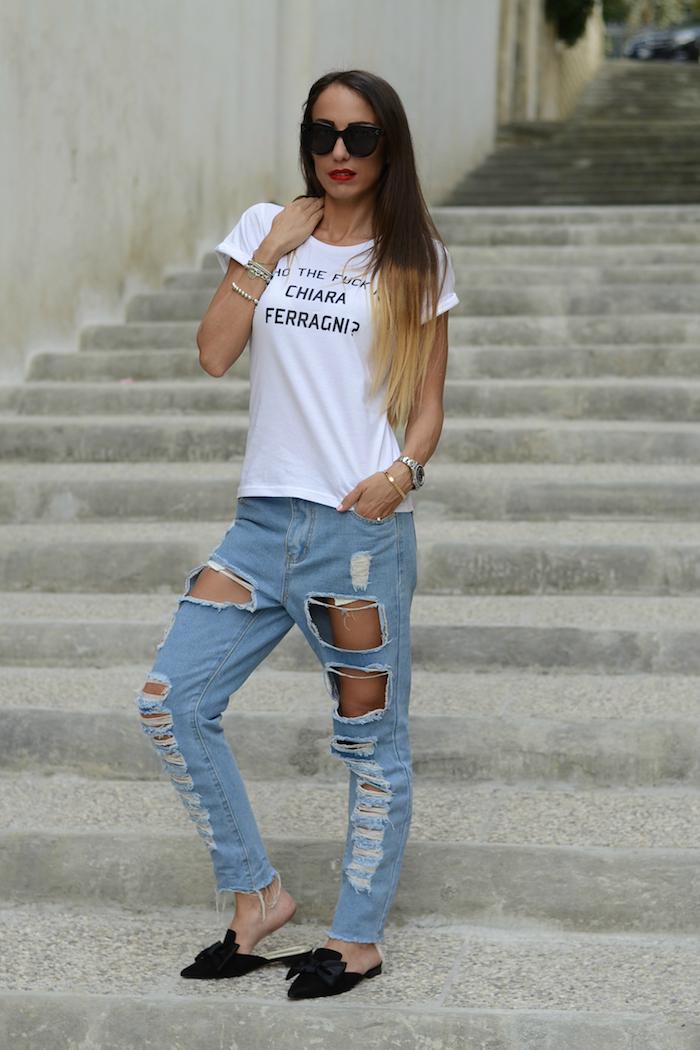 jeans e sabot