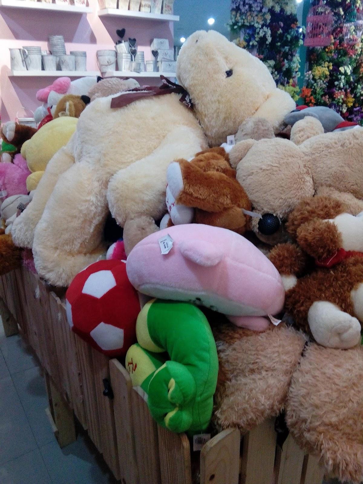 boneka teddy bear raksasa Jolie Jogja Wirobrajan