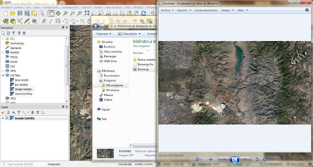 Como obtener un raster de mapa base en QGIS