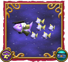 Wizard101 Fishing Dragonspyre Fish Storm School of Fish