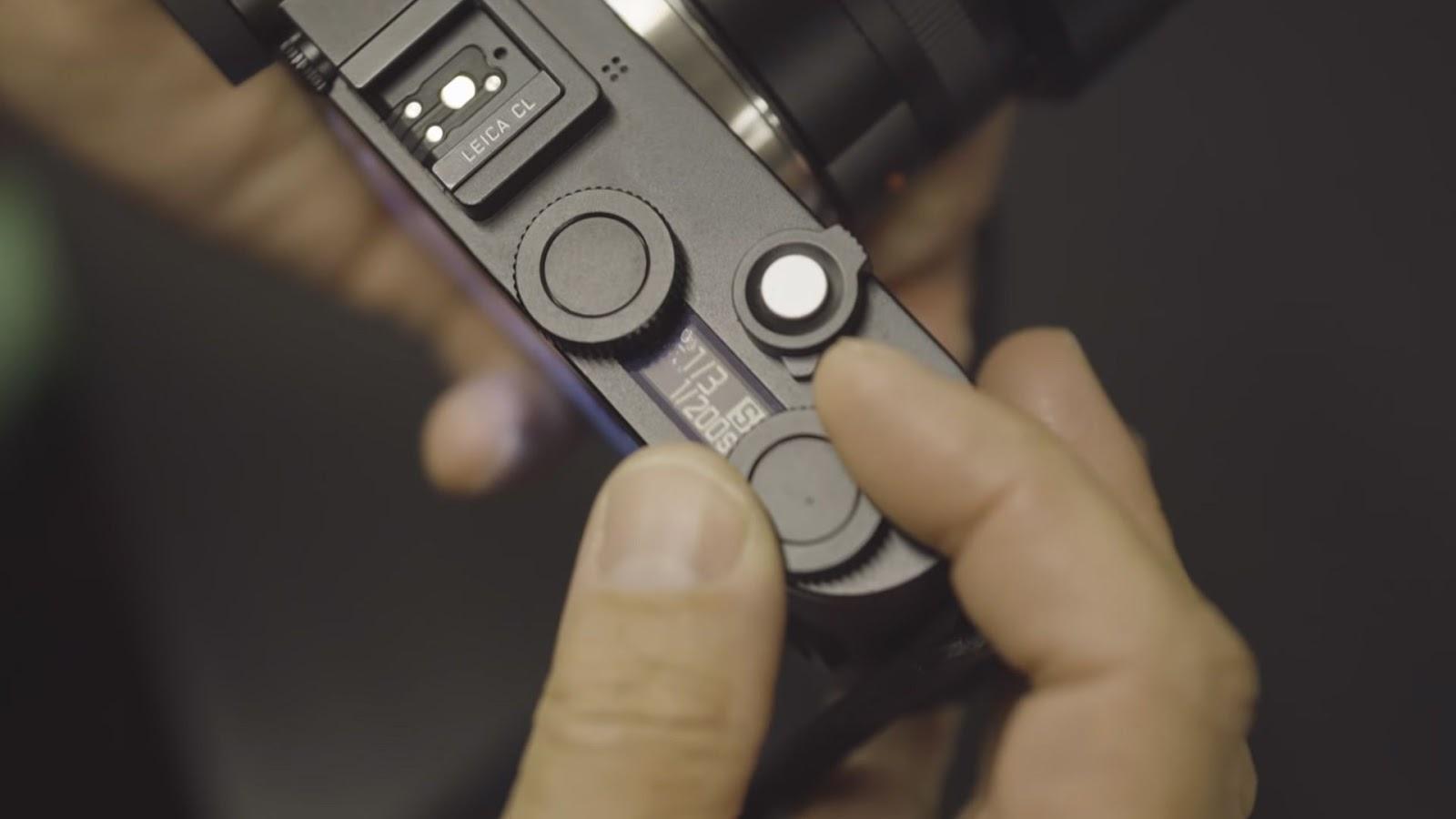 Верхняя панель камеры Leica CL