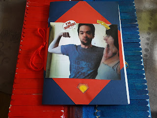 Livre cadeau fete des peres super hero  rapide photo creation enfant
