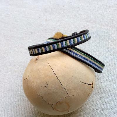 chan luu style beaded bracelet