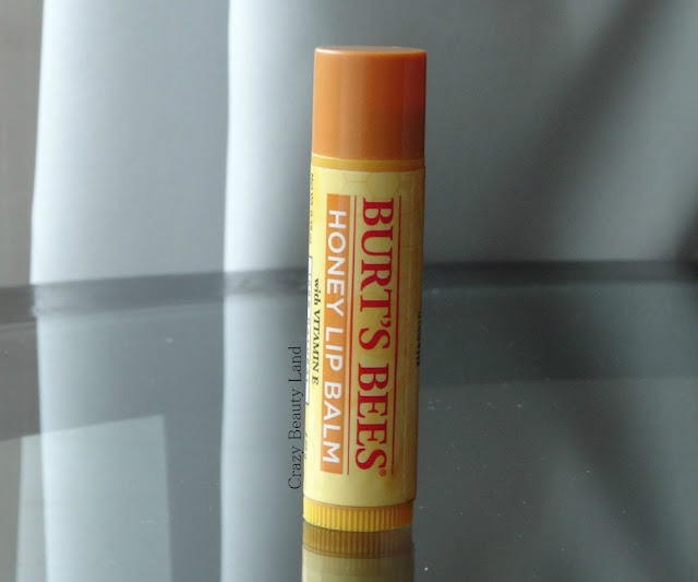 Burt's Bees Honey Lip Balm with Vitamin E 100% Natural Lip Balm Ingredients Review Price India