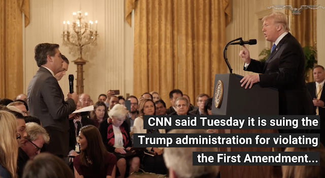 CNN sues Secret Service agent who took Jim Acosta's press pass