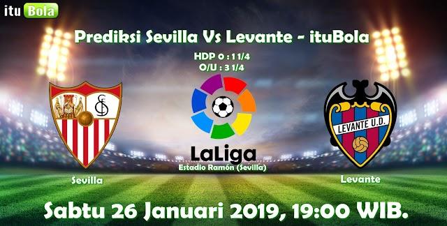 Prediksi Sevilla Vs Levante - ituBola
