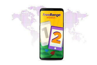 Introducing FreeRange Mobile, calling app gives you unlimited talk and text.