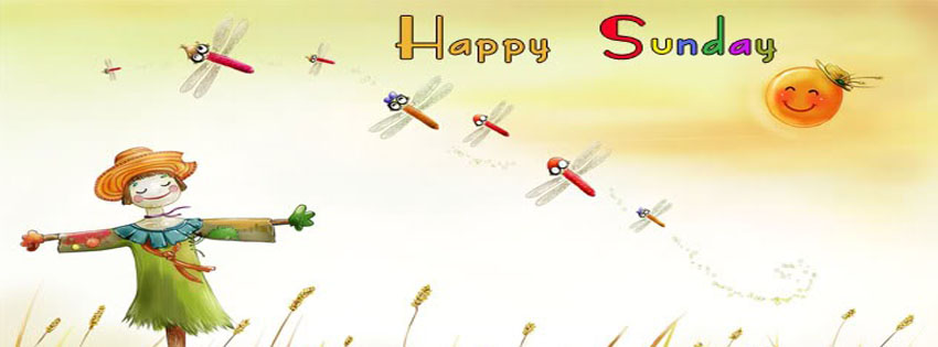 Happy Weekend And Happy Sunday Facebook Timeline Cover