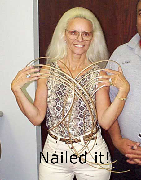 Funny Picture - Nailed it!