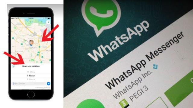 Pantau Lokasi Istri/Suami Kamu Lewat WhatsApp, Begini Caranya