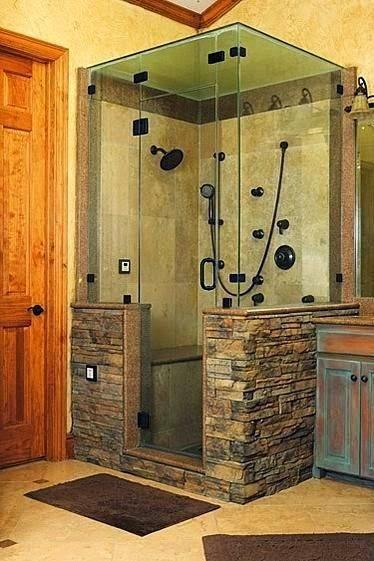 hemat air dan hemat tempat dengan desain kamar mandi shower