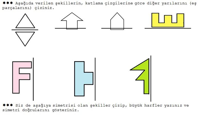 2 Sinif Matematik Simetri Etkinligi Ders Ve Calisma Kitabi
