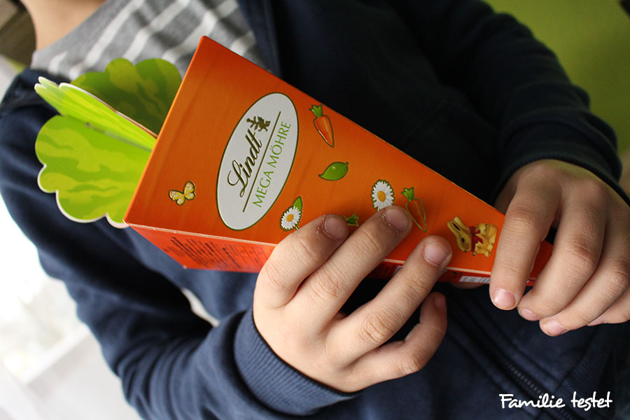 Ostern Schokolade Lindt Möhre