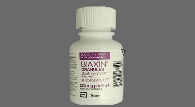 Health :The antibiotic clarithromycin (brand name: Biaxin) may increase the risk of  serious heart problems