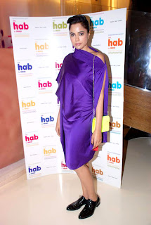 Sameera Reddy at The 'Hab' store launch
