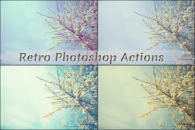 FREE RETRO PHOTOSHOP ACTIONS