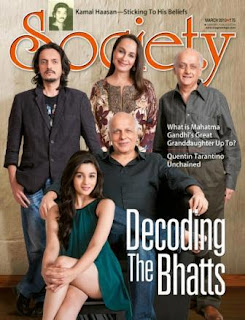 Anushka, Angela Jonsson, Kareena and Bhat family on March-13 different magazines