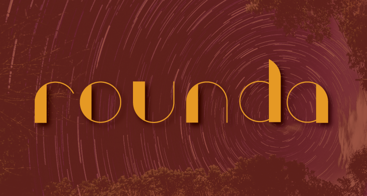 Rounda free font preview
