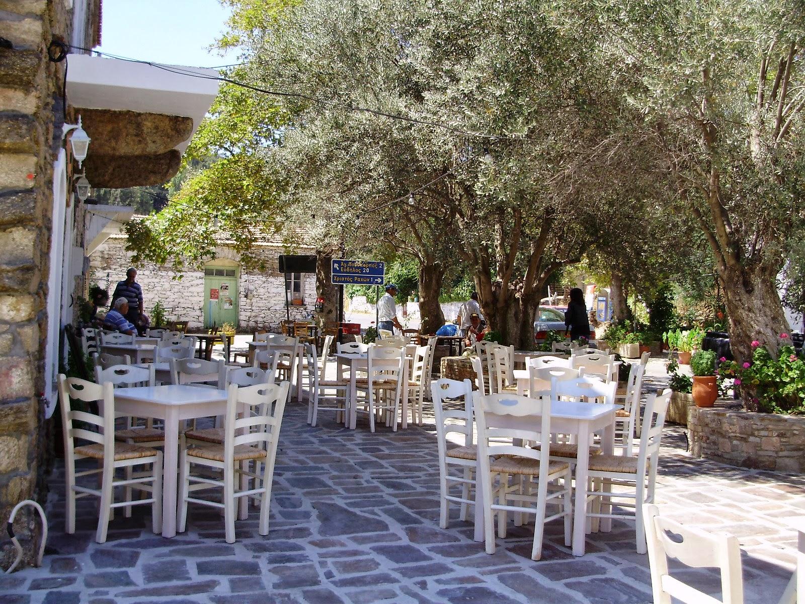 Il villaggio di Agios Dimitrios a Ikaria