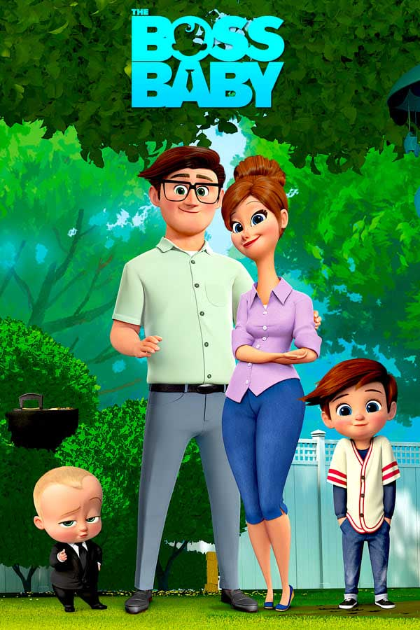 The Boss Baby 2017 Hindi Dual Audio 300MB BluRay 480p