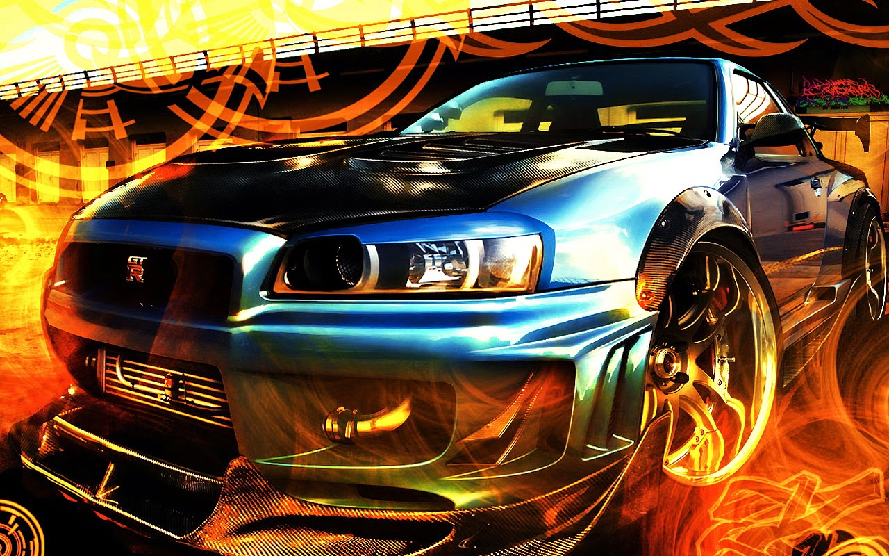 Free 4d Wallpaper Cool Car Wallpaper With Animated Race