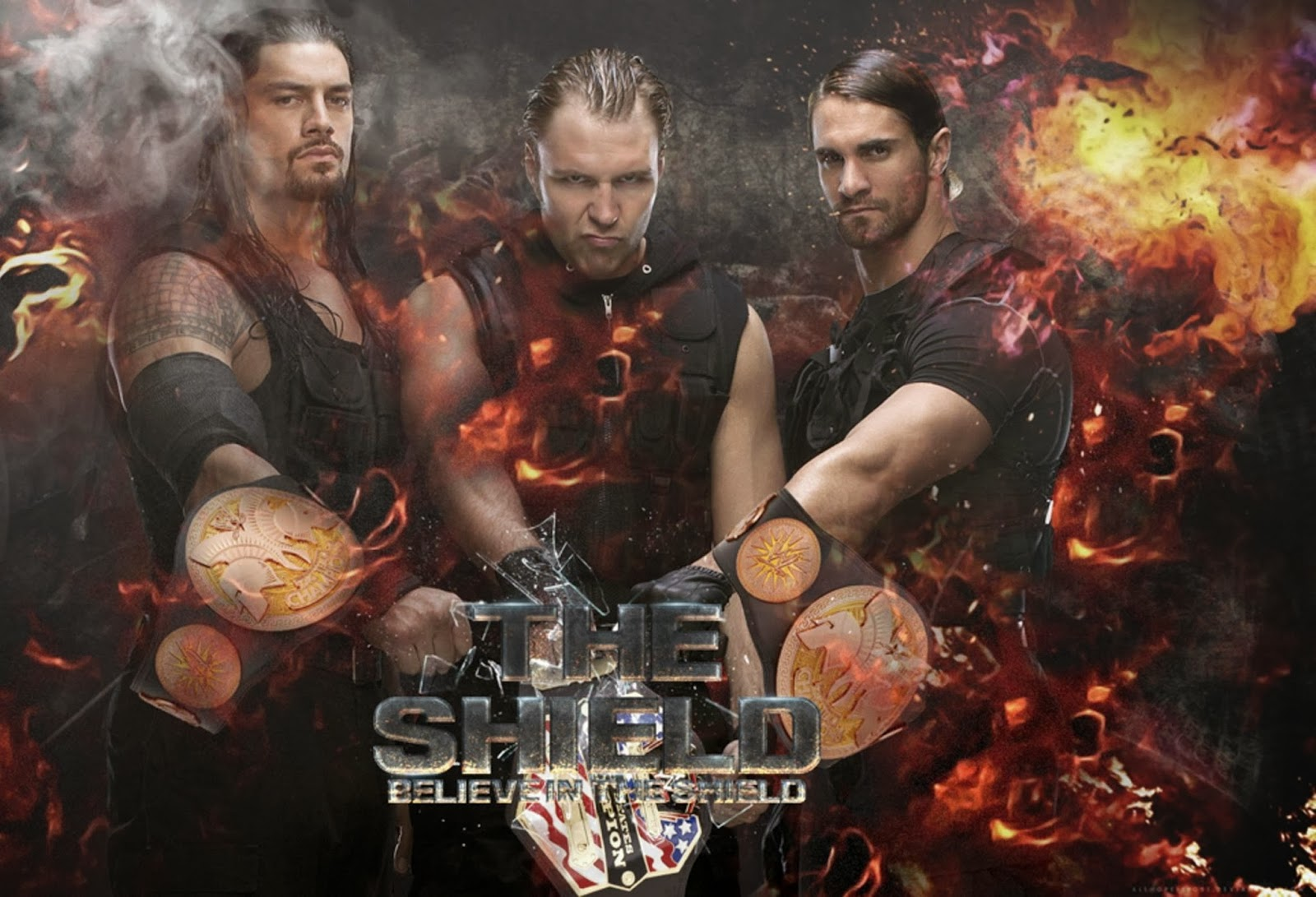 The shield hd wallpapers free download wwe hd wallpaper - Download pictures of the shield wwe ...
