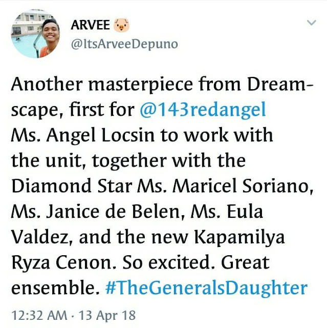 #TheGeneralsDaughter Is On The Fifth Trending Spot On Twitter