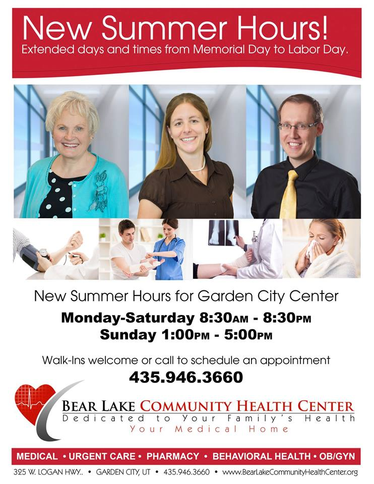 Clinic Summer Hours