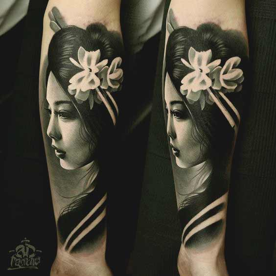 geisha tattoo meaning