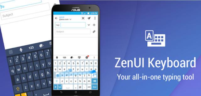 ZenUI Keyboard 2018 APK Free Download