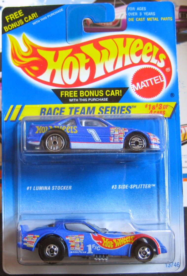 Humwheels Rare Hot Wheels Lumina Stocker Variation