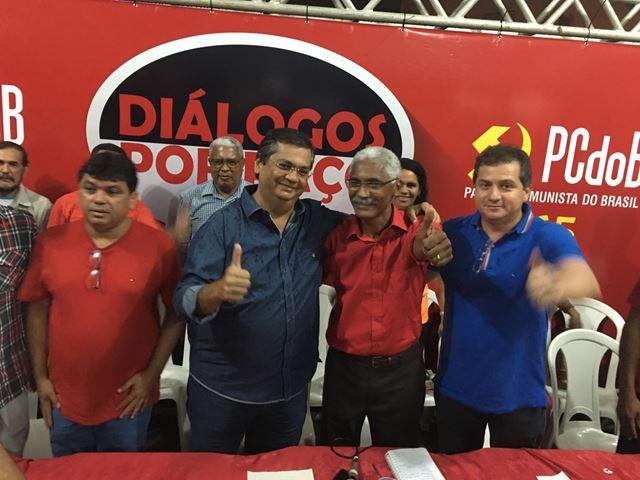 Márcio Jerry, Flávio Dino, Sutra e Simplício Araújo