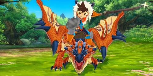 Jogo de RPG Monster Hunter Stories ganhará anime!