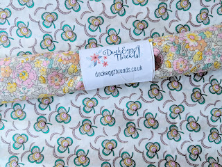 Liberty fabric Duck Egg Threads UK