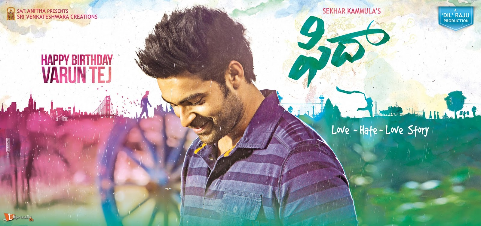 Fidaa First Look Poster-HQ-Photo-7
