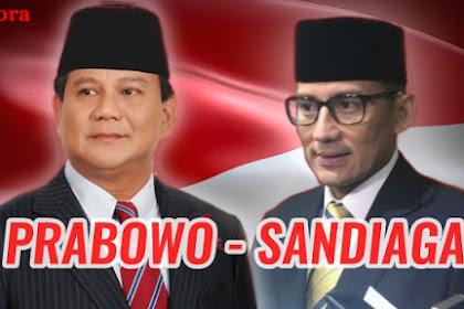 Kata Gerindra Prabowo Pilih Sandiaga Bukan Karena Logistik